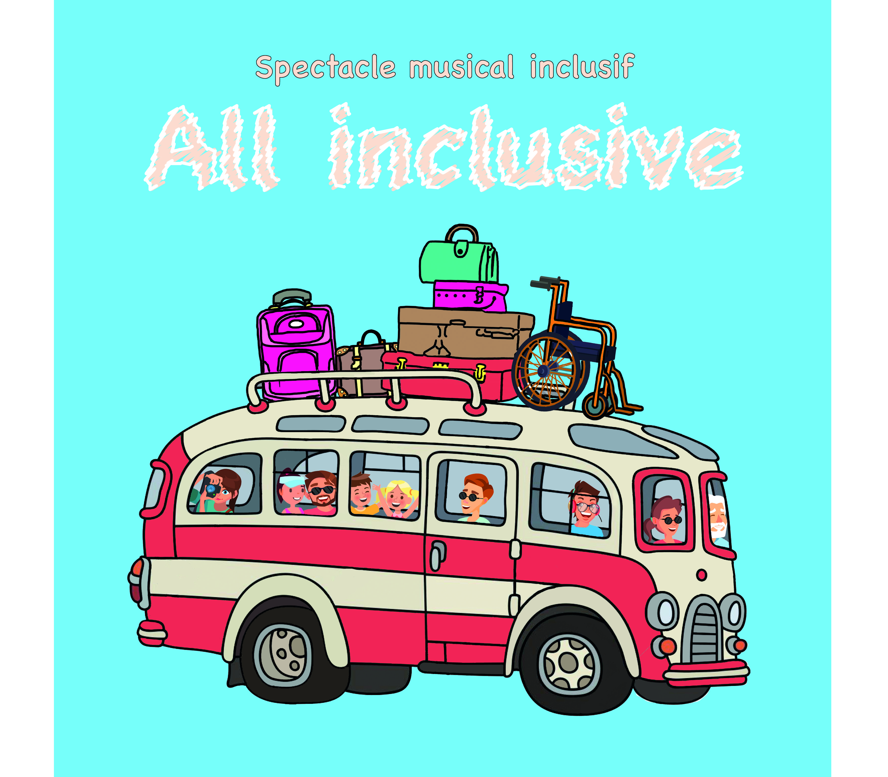 All inclusive illustration 002